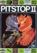 Pitstop 2 Commodore 64 cover