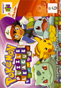 Pokemon Puzzle League  cover