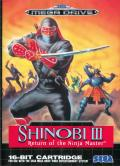 Shinobi 3: Return of the Ninja Master  cover