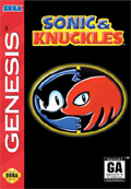 Sonic & Knuckles Genesis cover