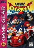 Sonic Drift 2 Game Gear cover
