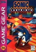 Sonic Labyrinth Game Gear cover