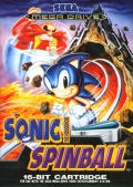 Sonic Spinball Genesis cover