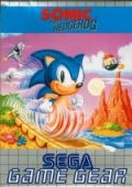 Sonic the Hedgehog (GG) Game Gear cover