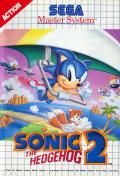 Sonic the Hedgehog 2 (SMS) Master System cover