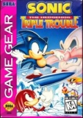 Sonic the Hedgehog: Triple Trouble Game Gear cover