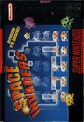 Space Invaders: The Original Game SNES cover
