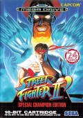 Street Fighter 2: Special Champion Edition Genesis cover
