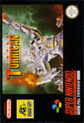 Super Turrican  cover
