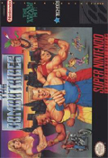 The Combatribes SNES cover