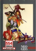The Last Blade 2 Neo-Geo cover