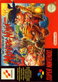 The Legend of the Mystical Ninja SNES cover