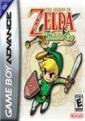 The Legend of Zelda: The Minish Cap Game Boy Advance cover