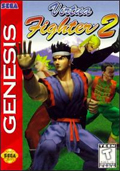 Virtua Fighter 2  cover