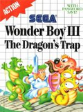 Wonder Boy 3: The Dragon's Trap Master System cover