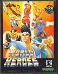 World Heroes Neo-Geo cover
