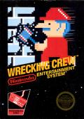 Wrecking Crew NES cover