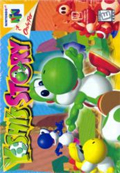 Yoshi's Story N64 cover