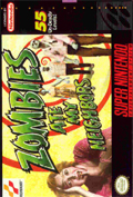 Zombies Ate My Neighbors SNES cover