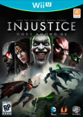 Injustice: Gods Among Us cover