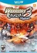 Warriors Orochi 3 Hyper cover