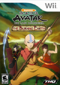Avatar: The Burning Earth cover