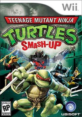 TMNT: Smash Up (As Tartarugas Ninjas) em um jogo de luta estilo Smahs Bros. TMNT-Smash-Up-US