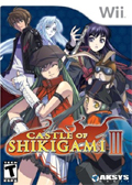 Castle of Shikigami 3 cover