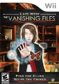Cate West: The Vanishing Files cover