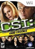 CSI: Hard Evidence cover