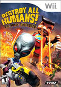 Destroy All Humans: Big Willy Unleashed cover