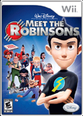 Disney's Meet the Robinsons cover