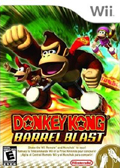 Donkey Kong Barrel Blast cover