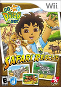 Go Diego Go: Safari Rescue cover