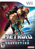 Metroid Prime 3: Corruption cover