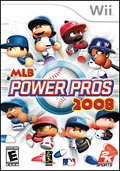 MLB Power Pros 2008 cover