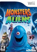 Monsters vs Aliens cover