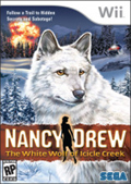 Nancy Drew: The White Wolf of Icicle Creek cover