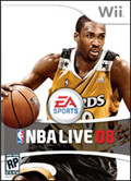 NBA Live 08 cover