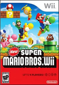 New Super Mario Bros Wii box