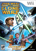 Star Wars The Clone Wars: Lightsaber Duels cover