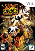 The Secret Saturdays: Beasts of the 5th Sun cover