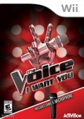 The Voice: I Want You box