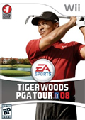 Tiger Woods PGA Tour 08 cover