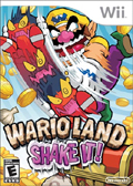 Wario Land: Shake it cover