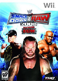 WWE Smackdown vs Raw 2008 cover