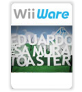 Eduardo the Samurai Toaster cover