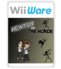 Newton Vs The Horde cover