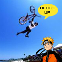 Dave Mirra and Naruto official