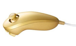 Gold Nunchuk back on Club Nintendo